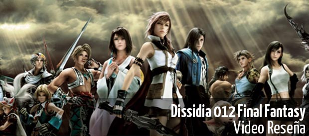 Dissidia 012 Final Fantasy, Square Enix, PSP