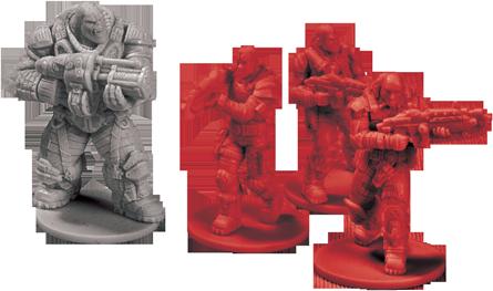 Gears of war ya tiene su propio juego de mesa for Gears of war juego de mesa