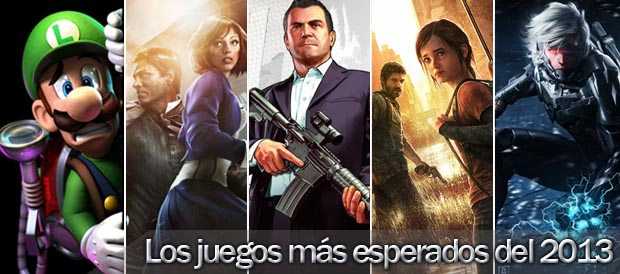 Metal Gear Rising: Revengeance, Devil My Cry: DMC, GTA V, The Last of Us, Tomb Raider, Dead Space 3, Bioshock Infinite