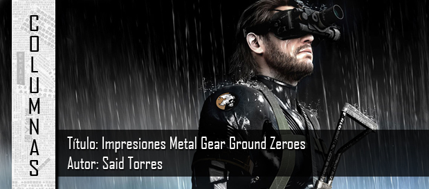 Metal Gear, Ground Zeroes, Hideo Kojima, PC, PS3, Xbox 360