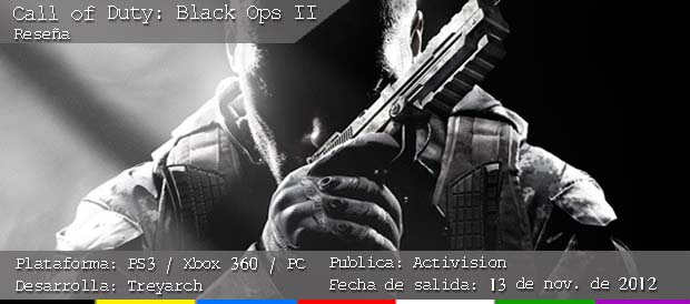 Call of Duty: Black Ops 2, Activision, Xbox 360, PS3, PC, Wii U
