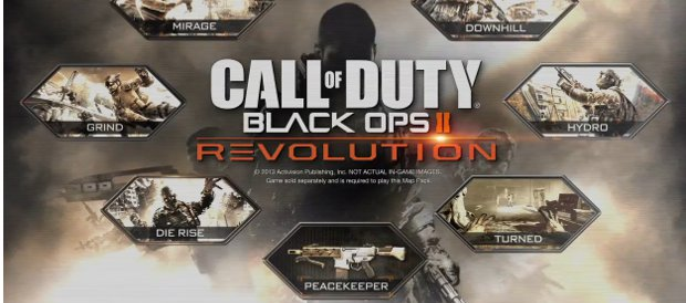 Call of Duty Black Ops II, PS3, Xbox 360, PC, Activision, Nintendo Wii U