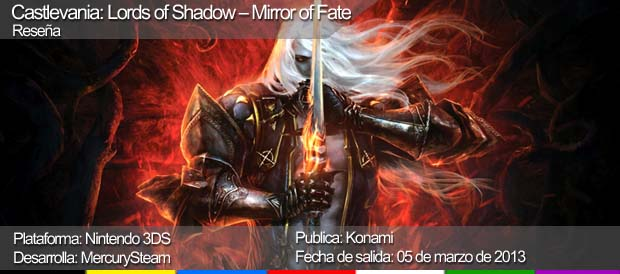 Castlevania: Lords of Shadow - Mirror of Fate, Konami, Nintendo 3DS
