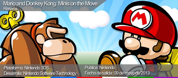 Mario and Donkey Kong: Minis on the Move, Nintendo, 3DS