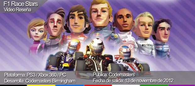 F1 Race Stars, Codemasters, PC, PS3, Xbox 360, Steam, PC