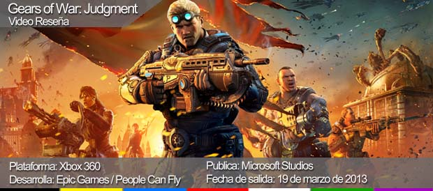 Gears of War: Judgment, Xbox 360, Epic Games