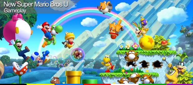 New Super Mario Bros U, Nintendo, Wii U