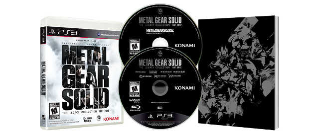 Metal Gear Solid: The Legacy Collection, Konami, PS3, Kojima Productions