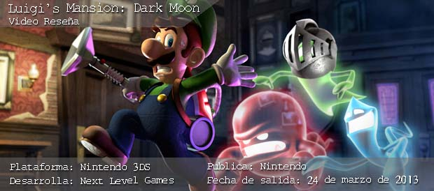 Luigi\'s Mansion Dark Moon, Nintendo, 3DS