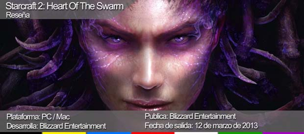 StarCraft II: Heart of the Swarm, Blizzard, PC