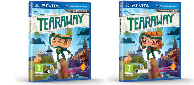 Tearaway, Media Molecule, PS Vita