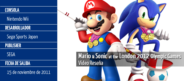 Mario & Sonic at the London 2012, Sega, Wii