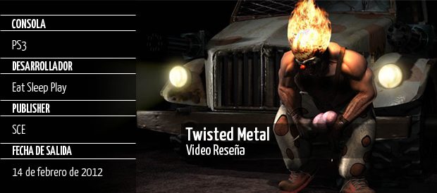 Twisted Metal, Eat Sleep Play, PS3, Sony