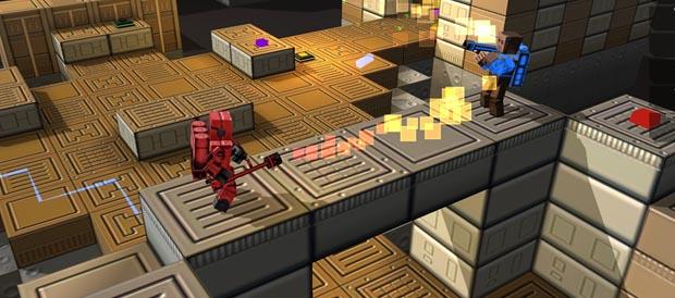 Cubemen 2 será el primer juego multijugador entre WiiU y PC